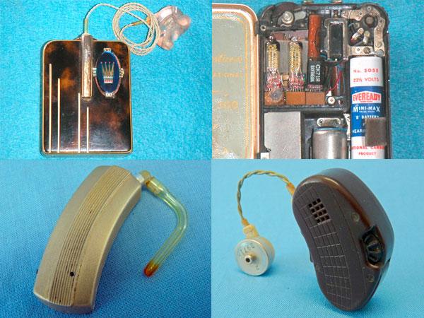 Historia de los audífonos para sordos los transistores