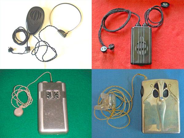 Historia audífonos para sordos tubos de vacío